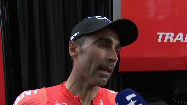 Giro de Italia 2019: Fran Ventoso explica su ataque final y cómo intentó ganar la etapa