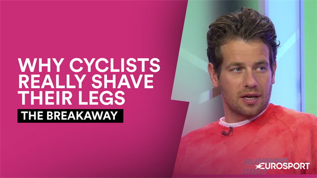 The Breakaway - Blythe talks road rash and why riders really shave their legs