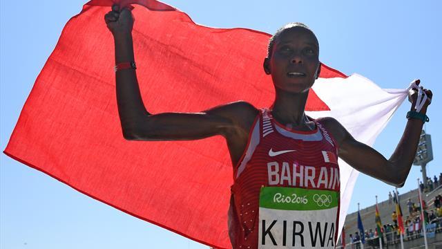 Kirwa, médaille d'argent de Rio, suspendue à titre conservatoire