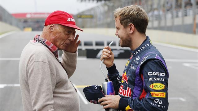 """Vettel erschüttert über Tod von Lauda: """"Lücke, die schwer zu füllen sein wird"""""""