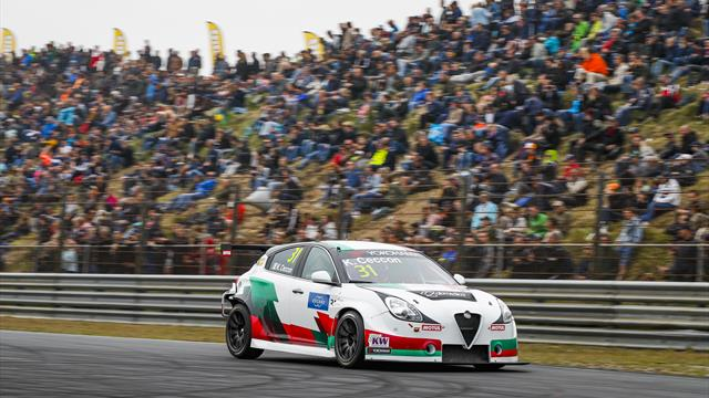 Tutti orgogliosi dei piloti Alfa Romeo
