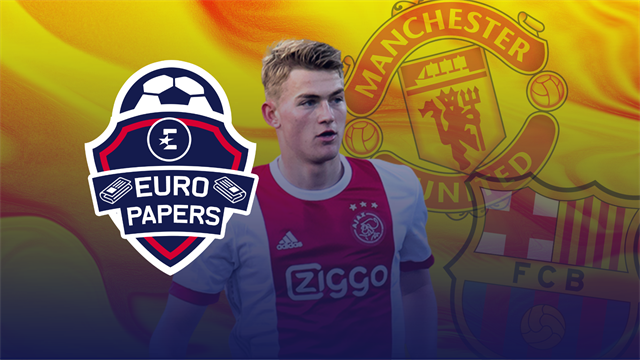 Euro Papers: Will United 'hijack' De Ligt's Barca deal?