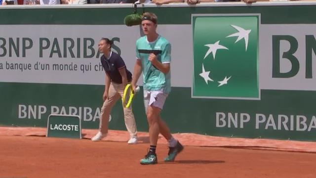 Roland-Garros 2019: Domingues-Davidovich, vídeo resumen del partido
