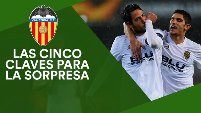 Las cinco amenazas del Valencia para dar la sorpresa en la final de Copa