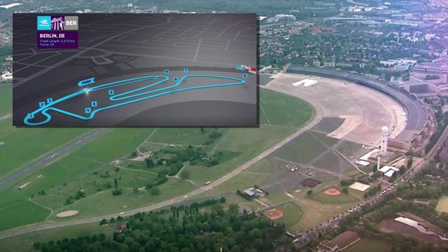 Formel E in Berlin: Das ist die Strecke auf dem Tempelhof