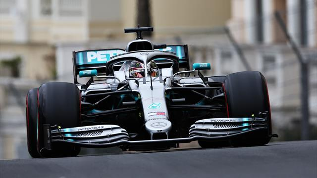 Hamilton leads the way in first Monaco practice