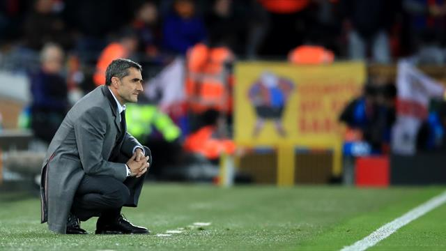 Barca president gives Valverde vote of confidence