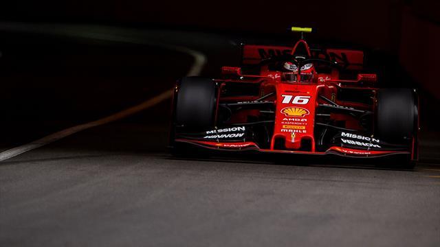 Leclerc éliminé dès la Q1... par Vettel !