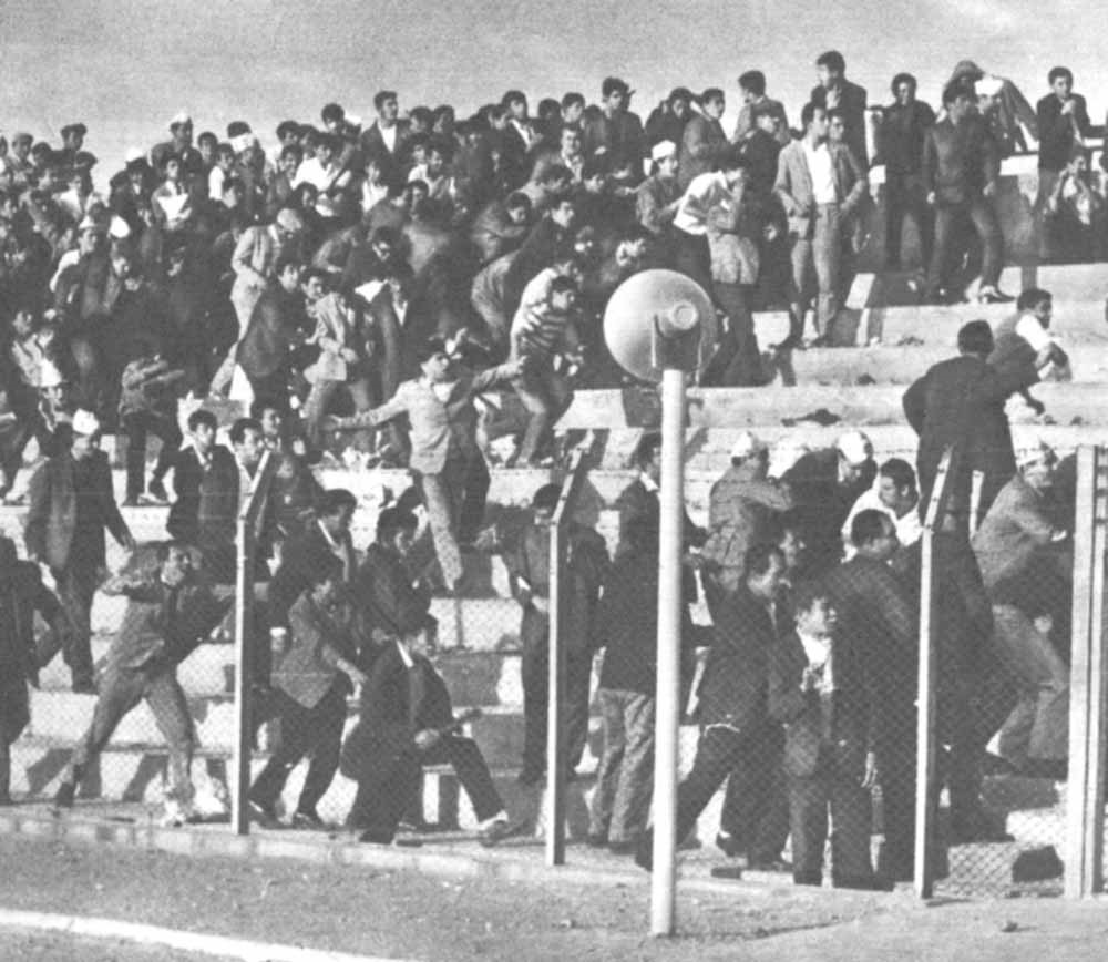 Sivas - Kayseri olaylı maç