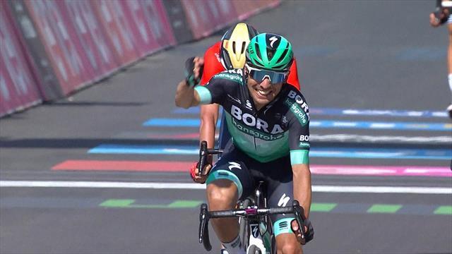 Яростный финиш 12-го этапа, в ходе которого Бенедетти обставил четырех соперников