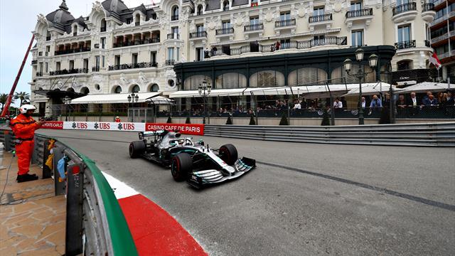 Hamilton and Bottas impress in Monaco second practice