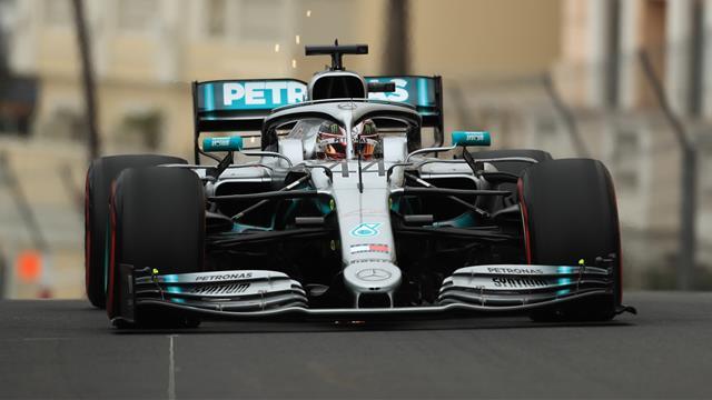 Hamilton put Mercedes on pole for Monaco Grand Prix