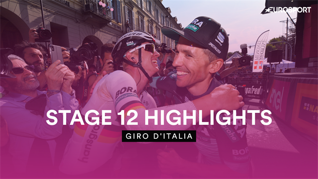 'All hail, Cesare!' - Highlights as Benedetti wins Stage 12