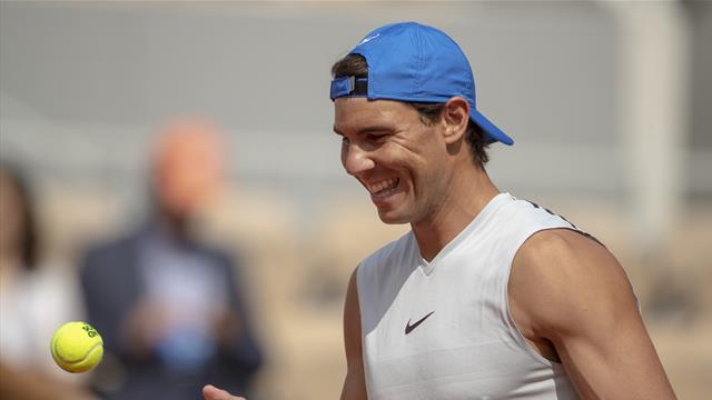"""Nadal sur le nouveau Chatrier : """"Franchement, j'ai le même feeling sur le court"""""""