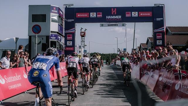 Hammer Serisi kadın bisikletçilerle birlikte Kolombiya yolcusu
