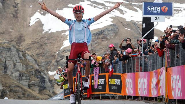 Закарин выиграл 13-й этап «Джиро»