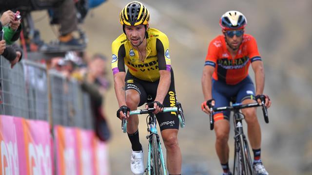 A tort ou à raison, Roglic a fait de Nibali son unique rival