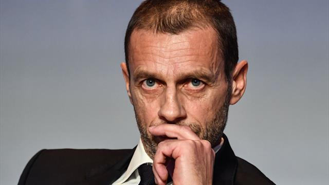 Le patron de l'UEFA met un coup de frein à la réforme de la Ligue des champions