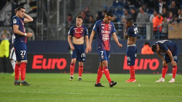 Le cauchemar pour Caen, un sursis pour Dijon