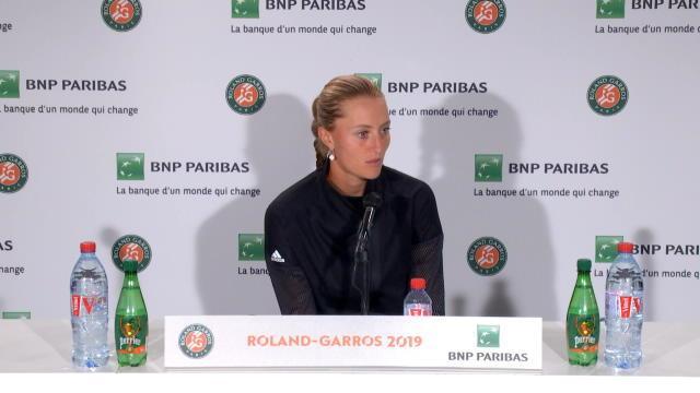 """Roland-Garros - Mladenovic : """"Toujours très spécial de jouer à Roland"""""""
