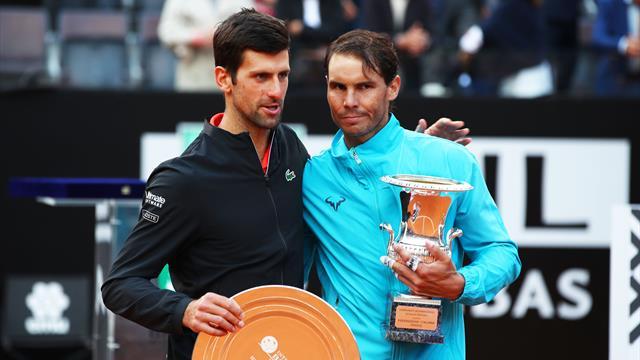Nadal-Djokovic devant, Paire seul Français du top 20 : notre bilan sur terre avant Roland