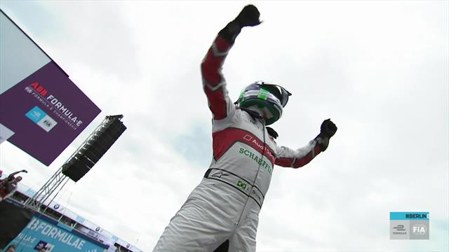 Highlights from the Berlin E-Prix as Di Grassi seals victory