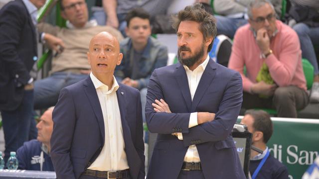"""Gianmarco Pozzecco """"sposa"""" Sassari: rinnovo con la Dinamo fino al 2022"""