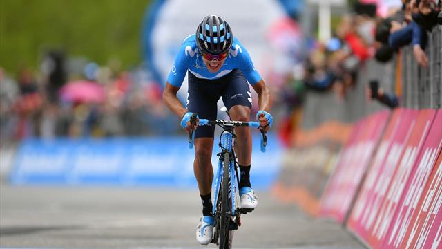 'Movistar are on fire!' - Carapaz wins Stage 14