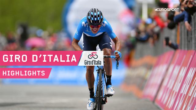 Карапас выиграл 14-й этап «Джиро», Закарин уступил больше семи минут