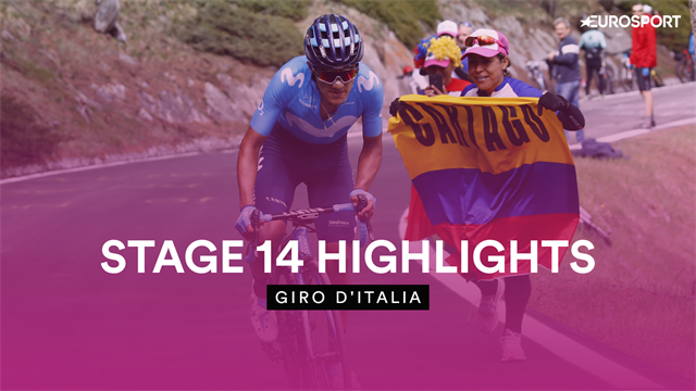 Stage 14 highlights: Carapaz in pink as Roglic, Nibali, Yates close in GC