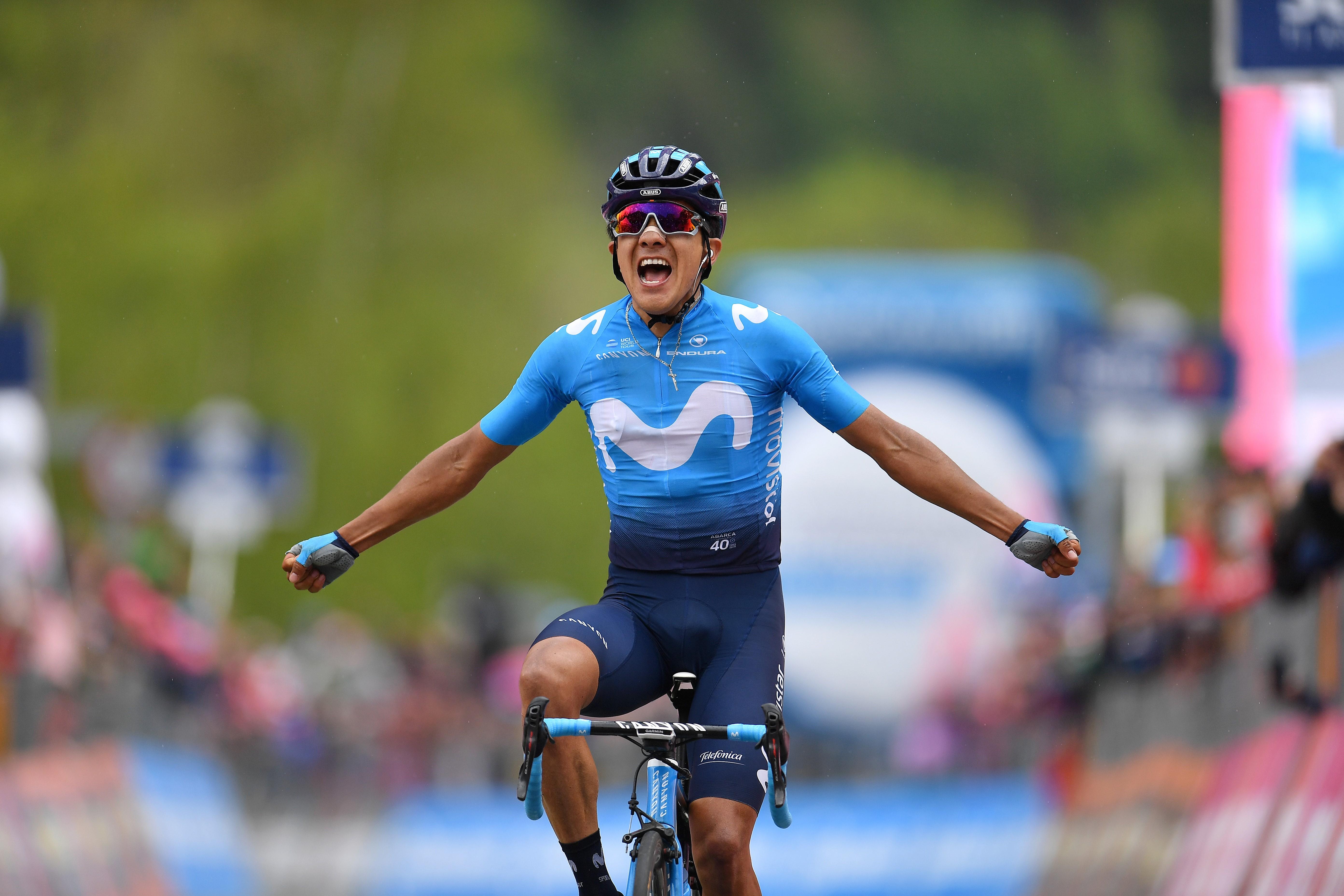 Richard Carapaz, Movistar, Giro 2019 14. Etap