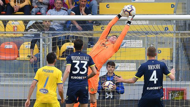 Serie A, Frosinone e Chievo salutano il campionato senza gol