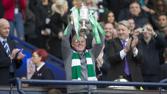 Celtic name Lennon as permanent boss after successful interim stint