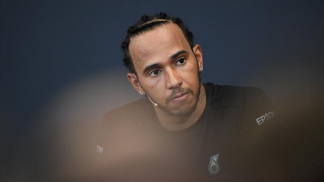 """Hamilton : """"Ma volonté était plus forte que jamais"""""""
