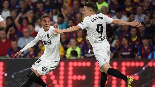 Valencia overrasket Barcelona og tok tittelen i klubbens 100-årsjubileum