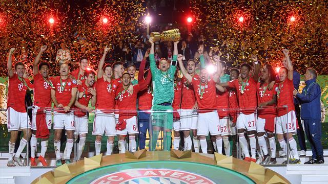 Lewandowski y Coman firman un doblete de ensueño para el Bayern
