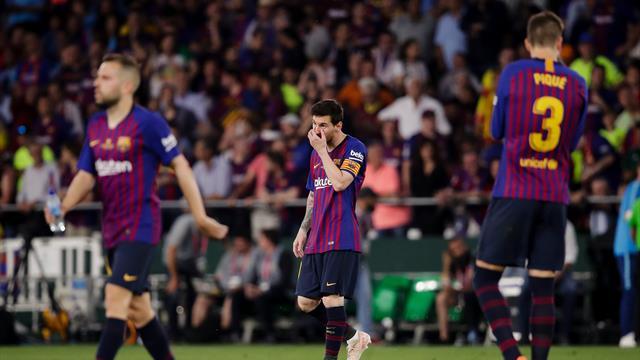 """Le Barça visait le triplé, mais il s'est """"perdu en route"""""""
