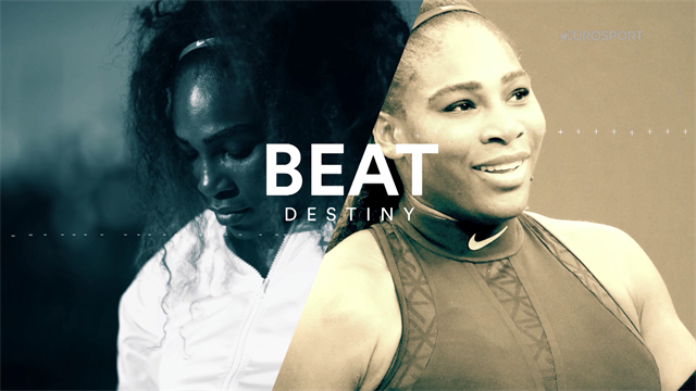 Beat Destiny - Serena Willams has overcome adversity before and she isn't finished yet