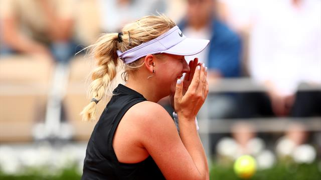 3-time Grand Slam champion Kerber loses opener in Paris