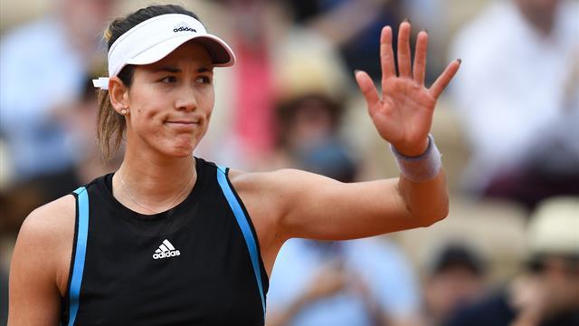 😔 Muguruza desperdicia su ventaja y continúa su calvario ante Madison Keys