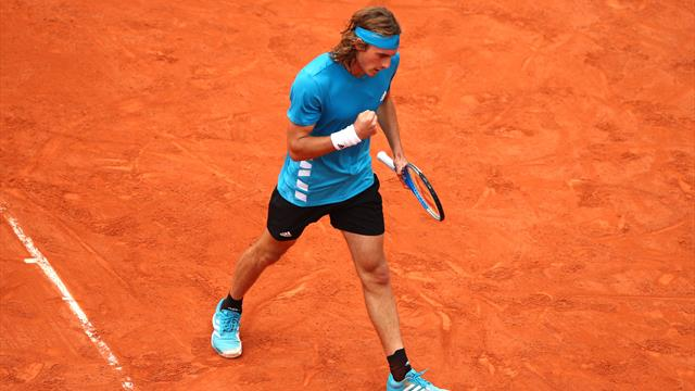 Tsitipas turns on the style in Roland Garros opener
