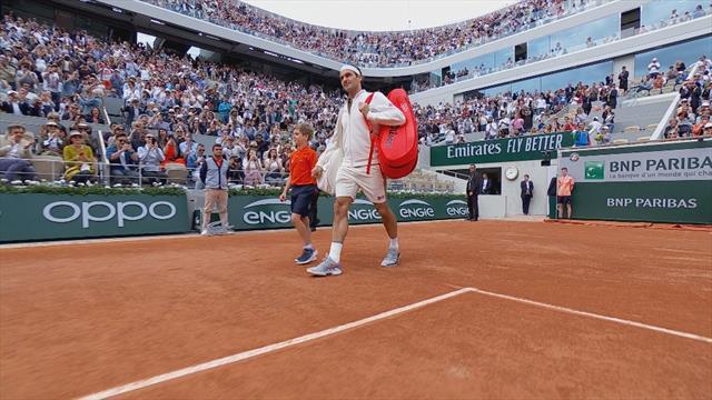 Le retour du Roi : l'acclamation du Central pour Federer