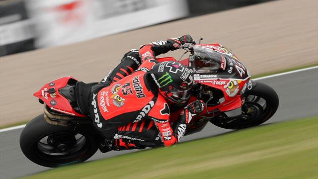 Scott Redding doubles up at Donington before red flag