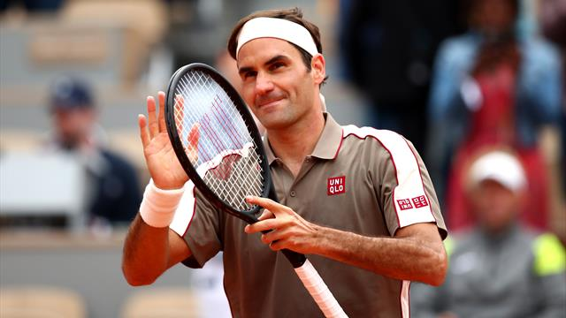Federer, des retrouvailles en douceur