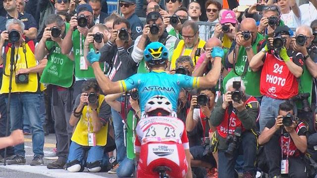 Катальдо из Astana Pro Team выиграл 15-й этап «Джиро»