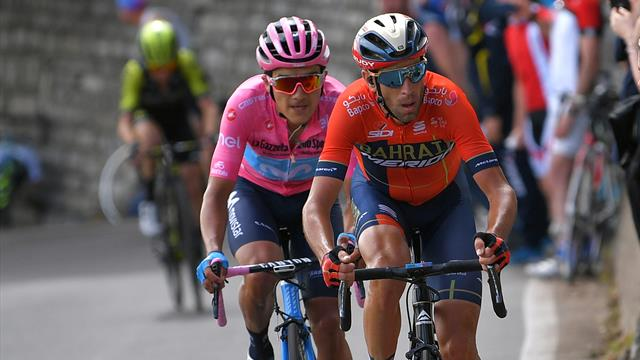 Blazin' Saddles: Carapaz tops the pack but Nibali now the favourite
