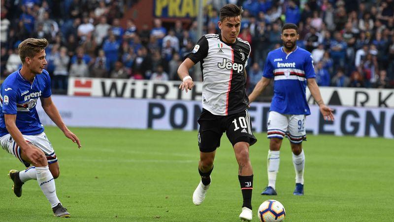Dybala 2019 Sampdoria-Juventus 2018/19