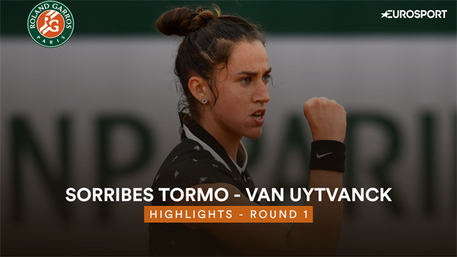 Roland-Garros 2019: Sorribes-Van Uytvanck, vídeo resumen del partido