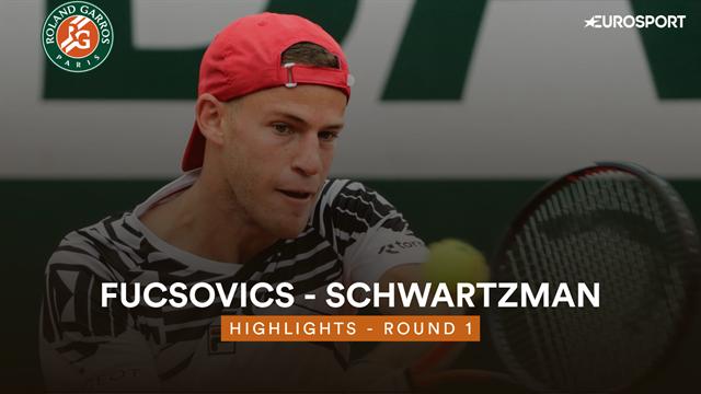Roland-Garros 2019: Fucsovics - Schwartzman, vídeo resumen del partido