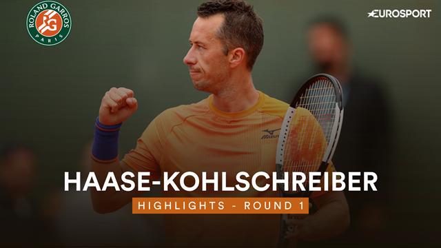 Roland Garros 2019: Haase-Kohlschreiber, vídeo resumen del partido